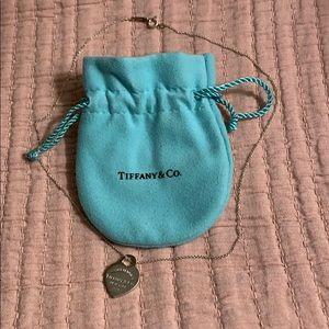 Return to Tiffany heart tag